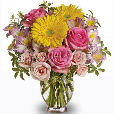 Bouquet dai colori Pastello per la Pasqua