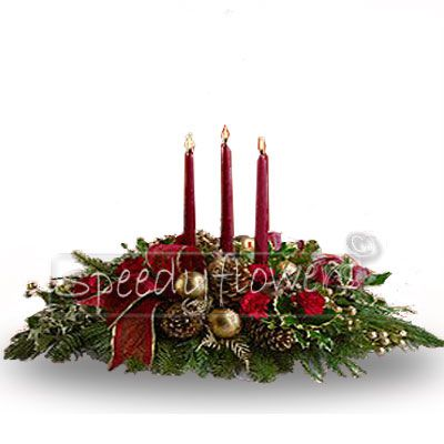 If you are thinking about a special gift, buy the Christmas centerpiece