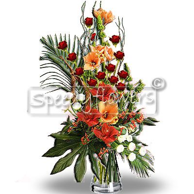 Floral Composition with Amarillis