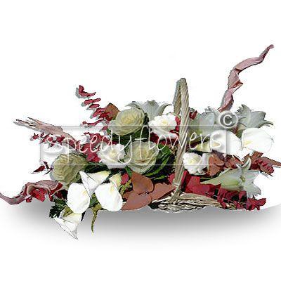 Composizione di fiori misti