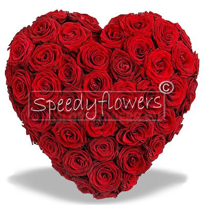 On Valentine's Day you can give a red roses heart. Then ask now for its forwarding