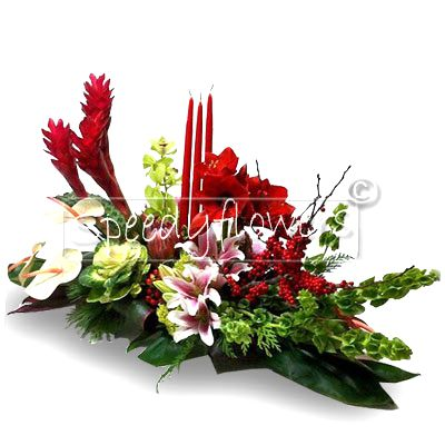 Elegant Centerpiece for Christmas