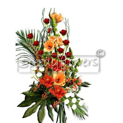 Inviare mazzo di fiori natalizio spedire natale for Disegni del mazzo del cortile