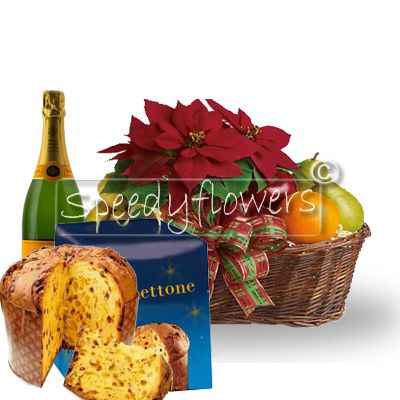Make this Christmas special by purchasing the package poinsettia premium
