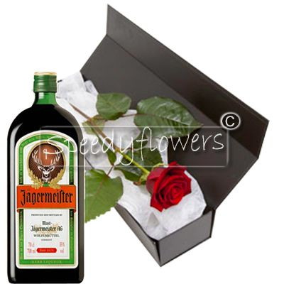At Father's Day offers a Red Rose and a bottle of Amaro
