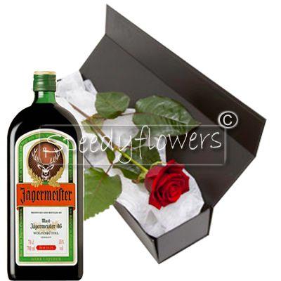 Alla Festa del Papà regala una Rosa Rossa e una bottiglia di Amaro